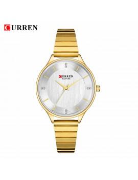 Γυναικείο ρολόι με χρυσαφί μπρασελέ