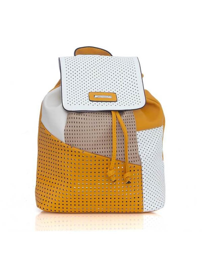 Σακίδιο πλάτης ''patch'' κίτρινο